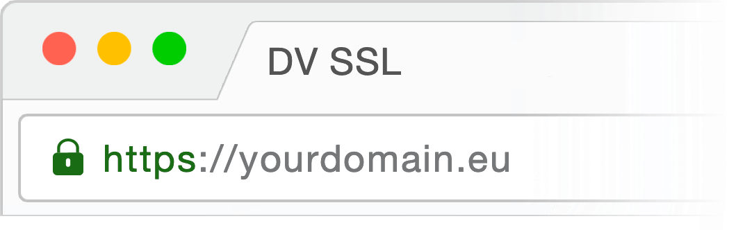 domain validated ssl certificate