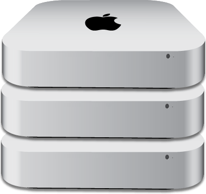 apple mac mini hosting i7